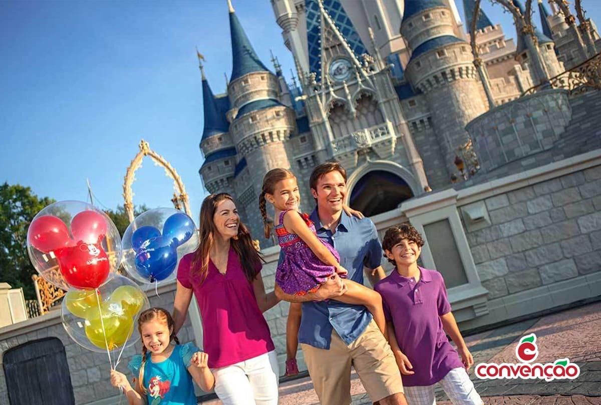 Viagem em família para a Disney